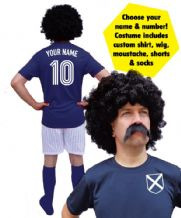 Scotland Football Player Custom Fancy Dress Costume